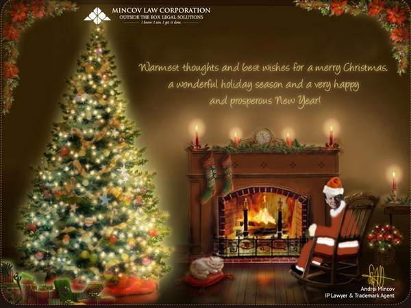 Mincov Law Corporation is now operating in the festive mode