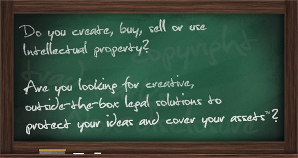 "Do you create, buy, sell or use intellectual property? Are you looking for creative, outside-the-box legal solutions to protect your ideas and cover your assets? (""Protecting Your Ideas and Covering Your Assets"" is a trademark of Mincov Law Corporation"
